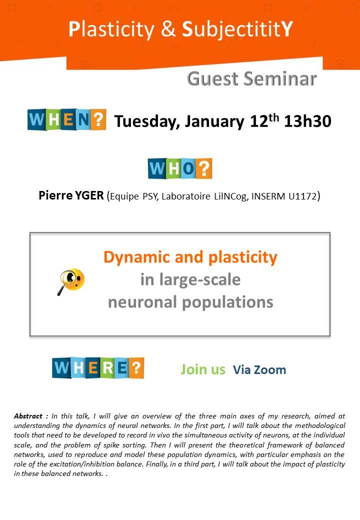 PSY – Guest Seminar